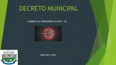 DECRETO MUNICIPAL N°. 2.295/2021 DE 01/03/2021